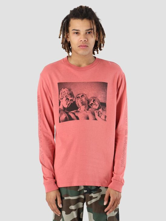 Obey Desire Dusty Longsleeve Dark Rose 166731871-DRO