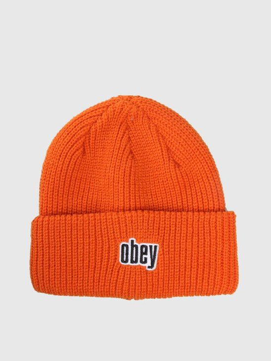 Obey Jungle Beanie Orange 100030139-ORG