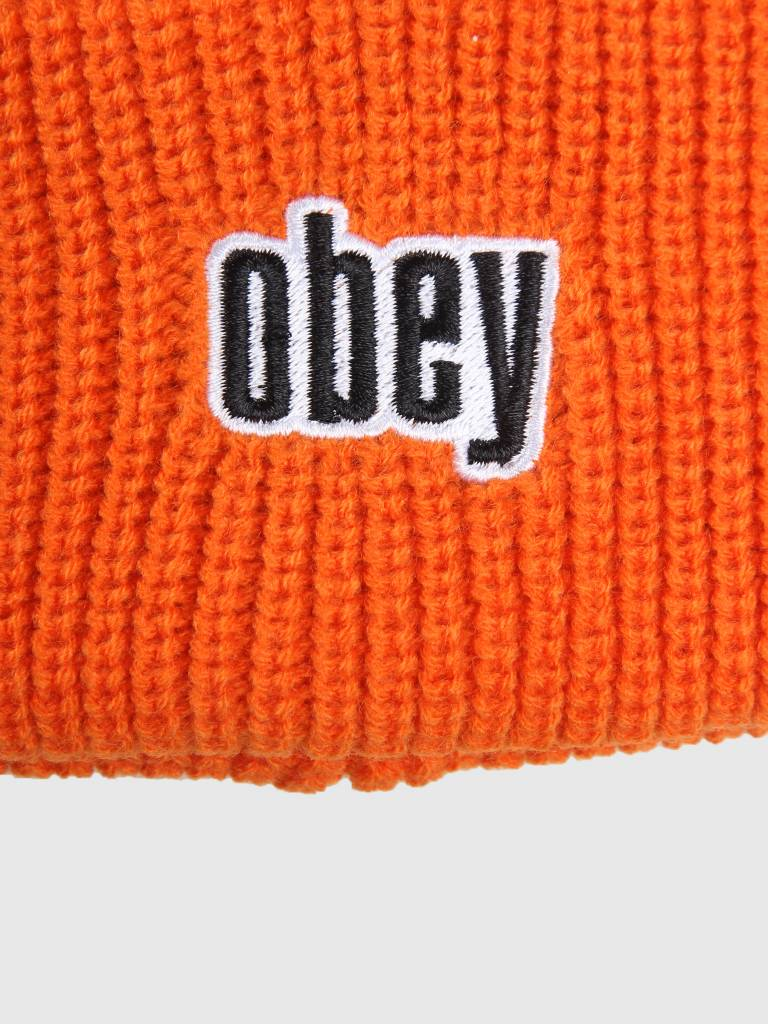 Obey Obey Jungle Beanie Orange 100030139-ORG