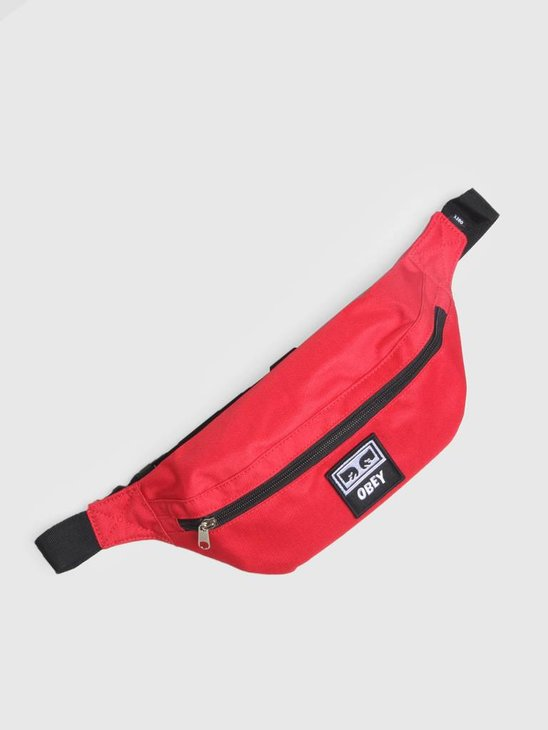 Obey Daily Sling Pack Hot Red 100010100