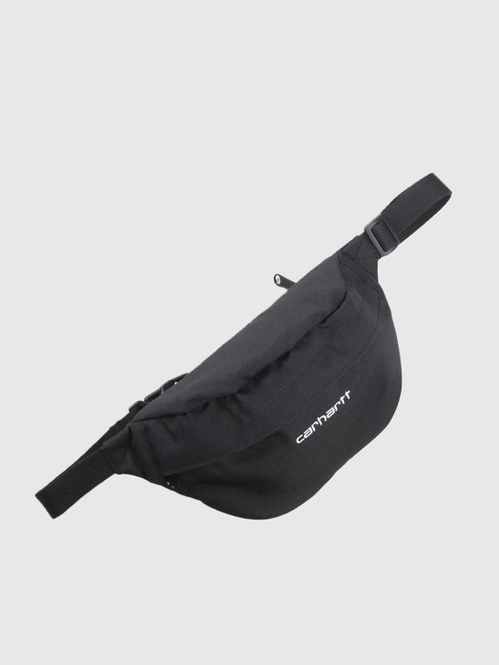 Carhartt WIP Payton Hip Bag Black White I025742-8990