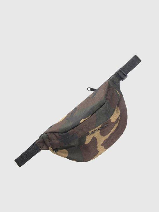 Carhartt WIP Payton Hip Bag Camo Laurel Black I025742-64090
