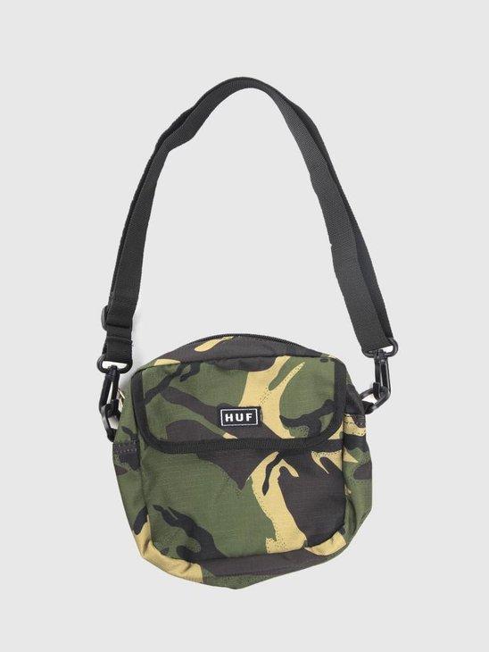 HUF Tompkins Shoulder Pack AC00188 Deep Olive AC00188