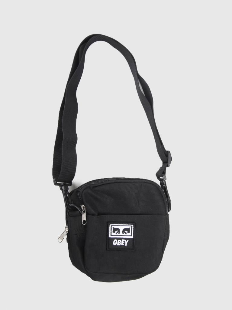 Obey Obey Drop Out Traveler Bag Black 100010094