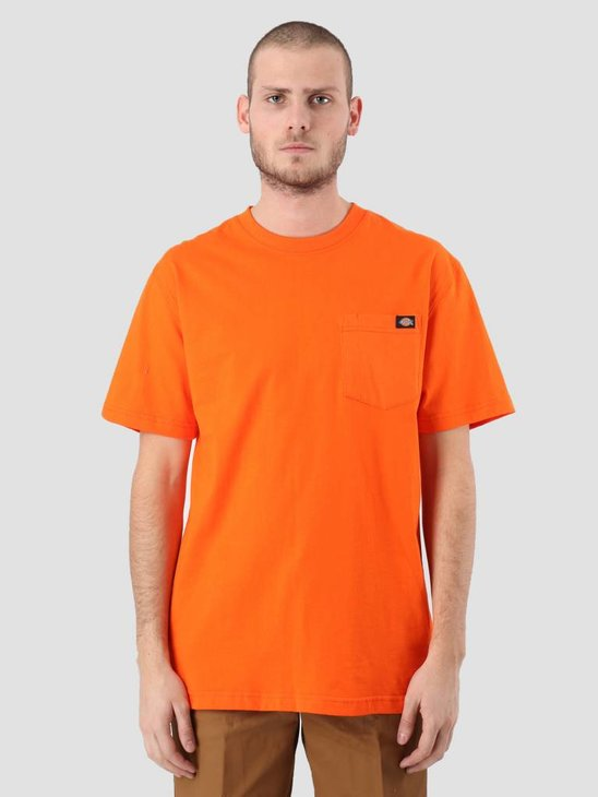 Dickies Pocket T-Shirt Orange WS450