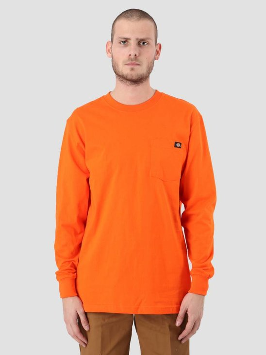 Dickies Pocket Longsleeve Orange WL450