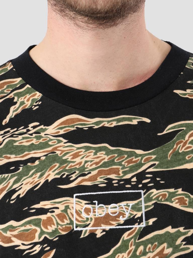 Obey Obey Flight Classic Longsleeve Tiger camo 131030083-TIG