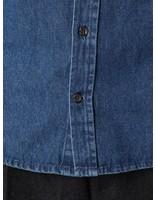 Kronstadt Kronstadt Johan Denim Longsleeve Shirt Dark Blue KRFH18-20058