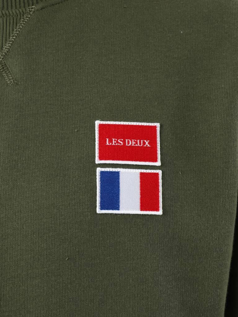 Les Deux Les Deux National Sweatshirt Dark Green LDM200032