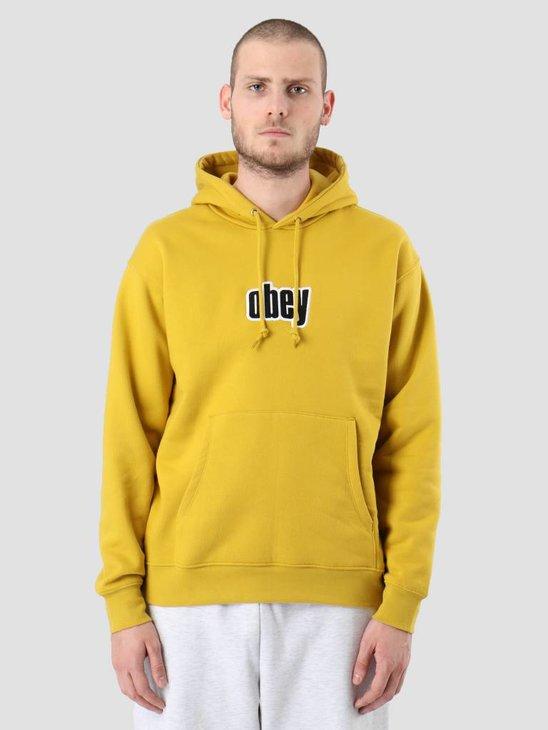 Obey Warp Hood Golden olive 112470036-GLD