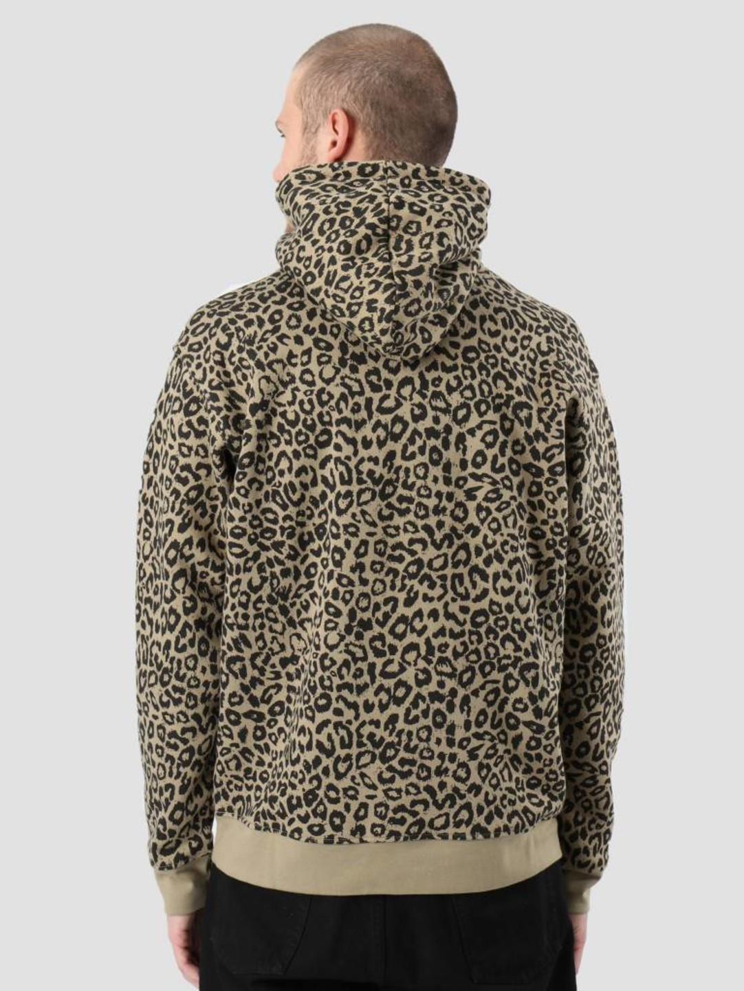f961946c2ef1 Obey Gusto Hood Kahki leopard 112470037-LEO | FRESHCOTTON