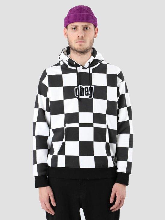 Obey Gusto Hood Checker 112470037-CHK