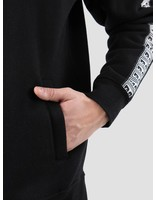 Obey Obey Bridges Mock Neck Zip Black 111620043-BLK