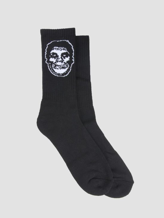 Obey Misfits Socks Socks Black 100260124
