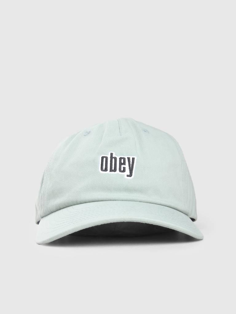 Obey Obey Highland Strapback Mint 100570086-MNT