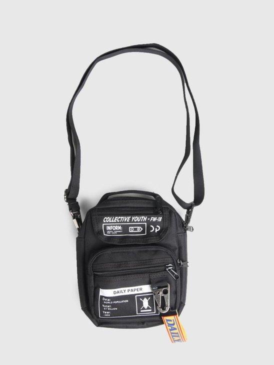 Daily Paper Midi Bag Black 18F1AC02