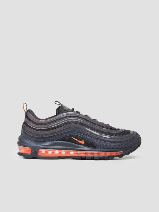 Nike Air Max 97 SE Reflective Off Noir Total Orange Thunder Grey Bq6524-001