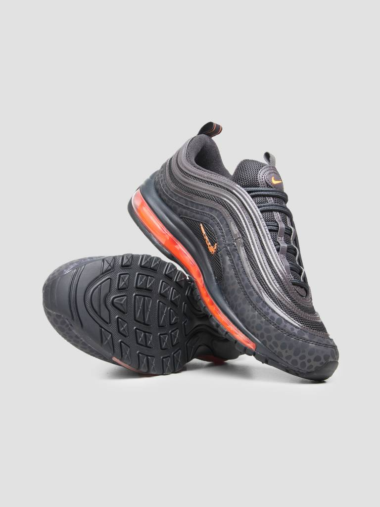 Nike Nike Air Max 97 SE Reflective Off Noir Total Orange Thunder Grey Bq6524-001