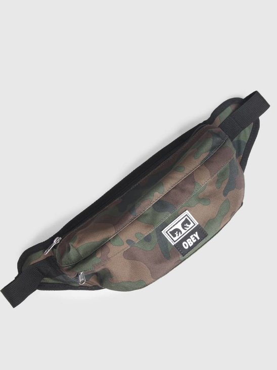 Obey Drop Out Sling Pack Field Camo 100010093