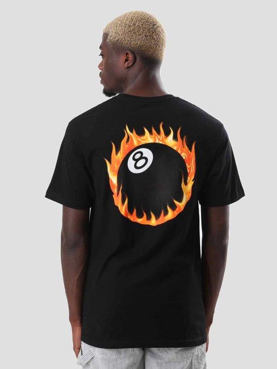 Stussy Fireball T-Shirt Black 1904225