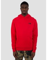 The North Face The North Face Raglan Red Box Hoodie TNF Red TNF Black