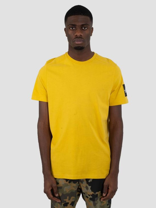 The North Face Fine 2 T-Shirt Leopard Yellow