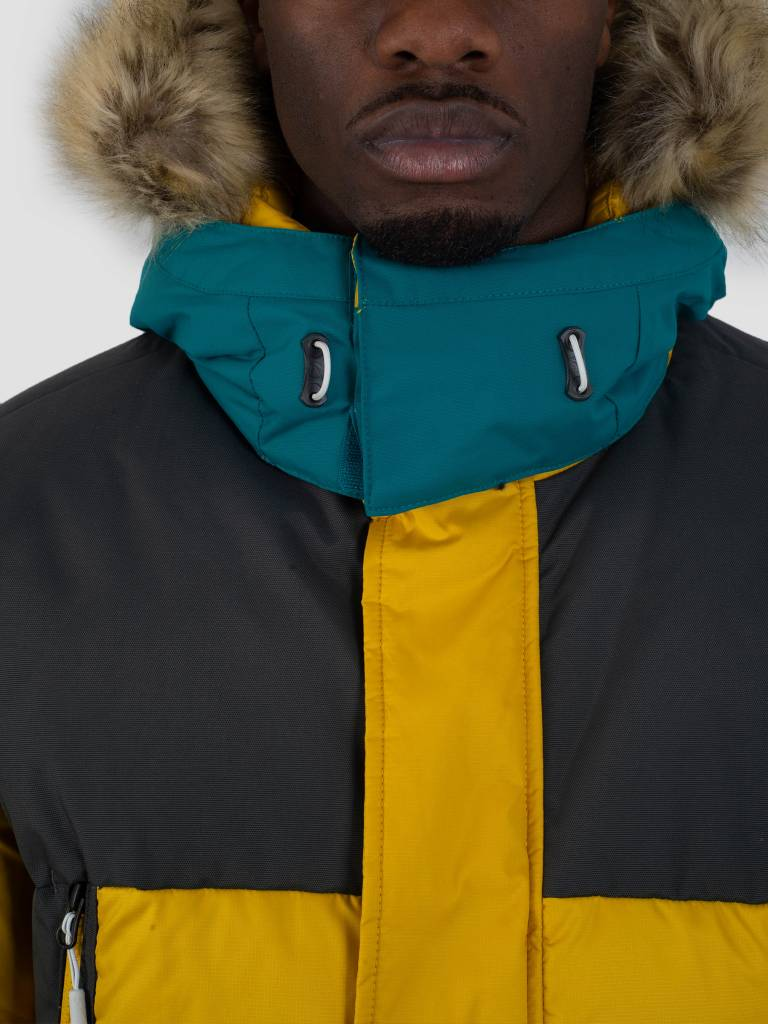 The North Face The North Face Vostok Parka Leopard Yellow
