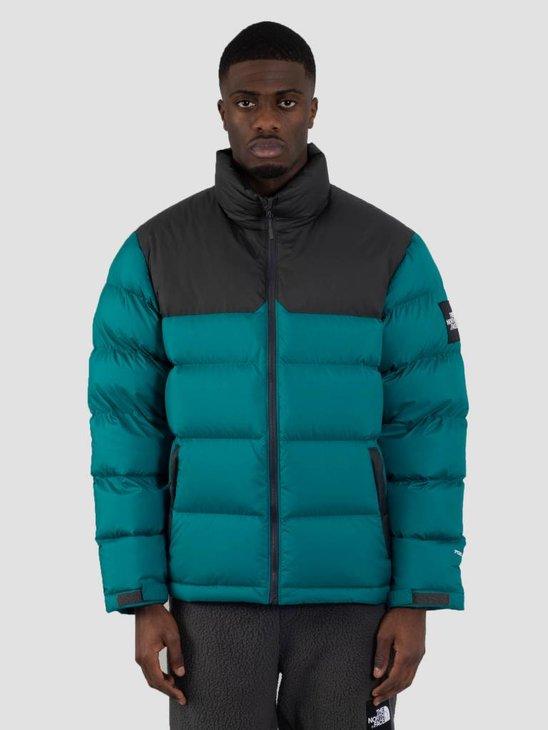 The North Face 1992 Nuptse Jacket Everglade Asphalt Grey
