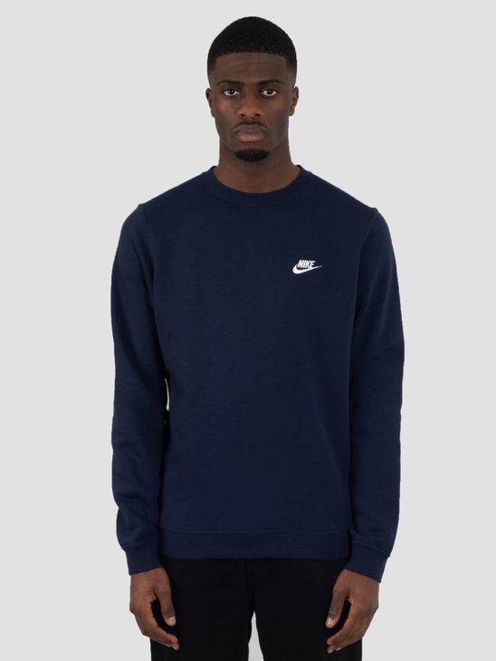 Nike NSW Crew Obsidian White 804340-451