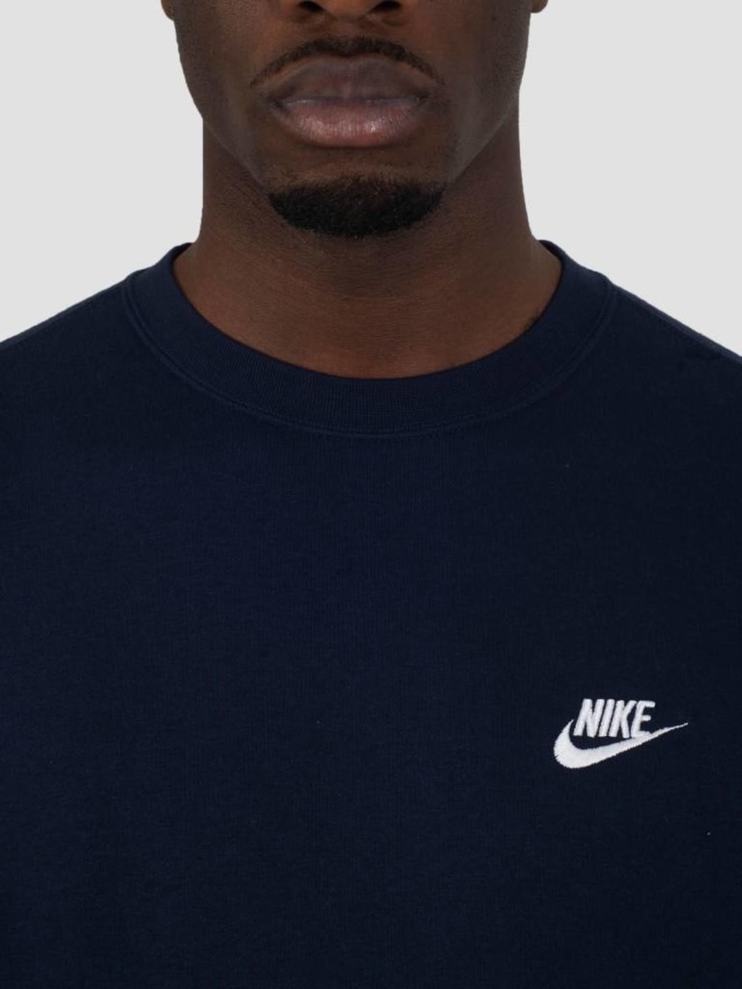 Nike Nike NSW Crew Obsidian White 804340-451