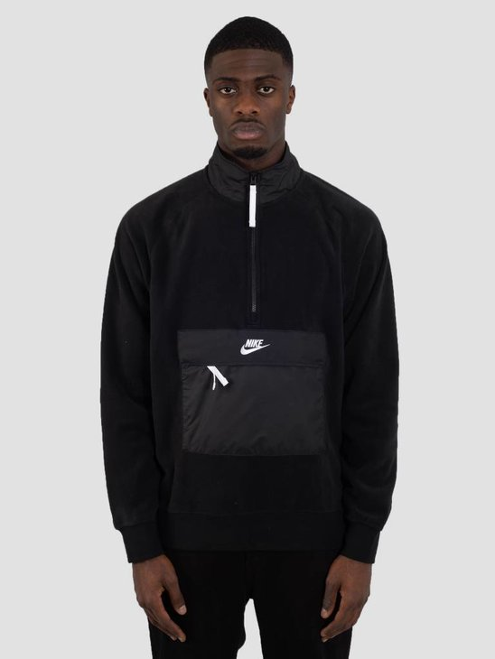 Nike NSW Sweater Black Black White 929097-010