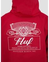 HUF HUF Bud Label Anorak Jacket Red JK00153