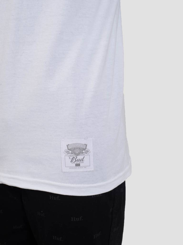 HUF HUF Bud Classic H T-Shirt White TS00752
