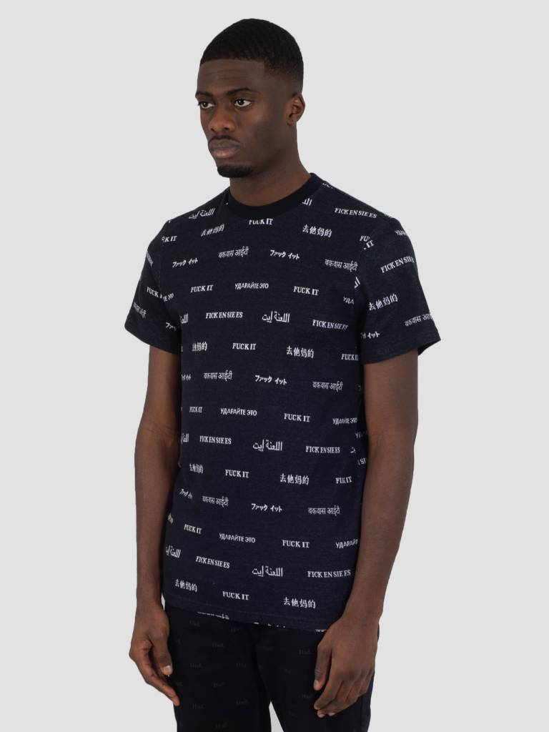 HUF HUF Translation T-Shirt Black KN00062
