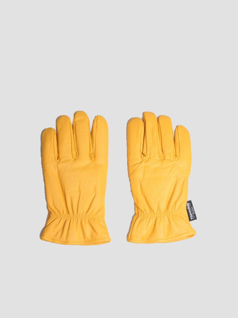 Dickies Dickies Lined Leather Gloves Tan GL0200S