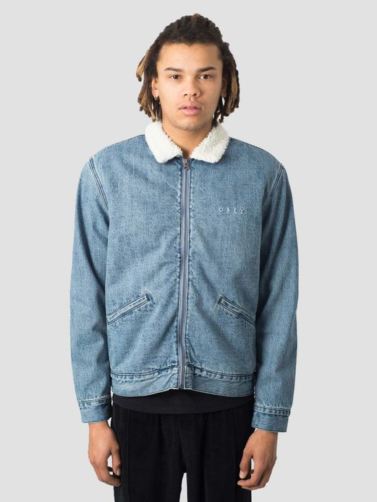 Obey Division Denim Jacket Light indigo 121800356-LIN