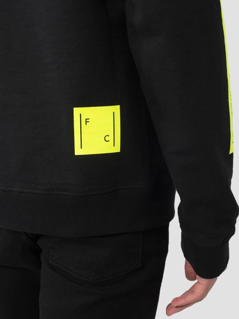 FRESHCOTTON FreshCotton Logo Crewneck Neon Black