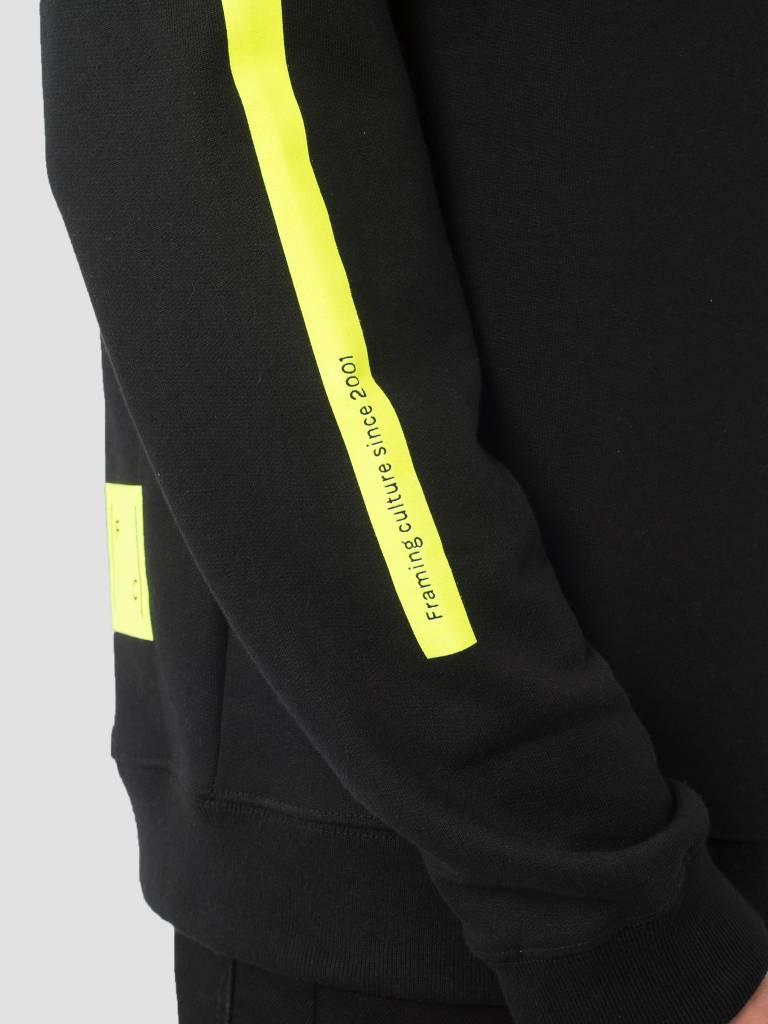FRESHCOTTON FreshCotton Logo Hoodie Neon Black