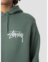 Stussy Stussy Stock Pig. Dyed Hoodie Pine 0460