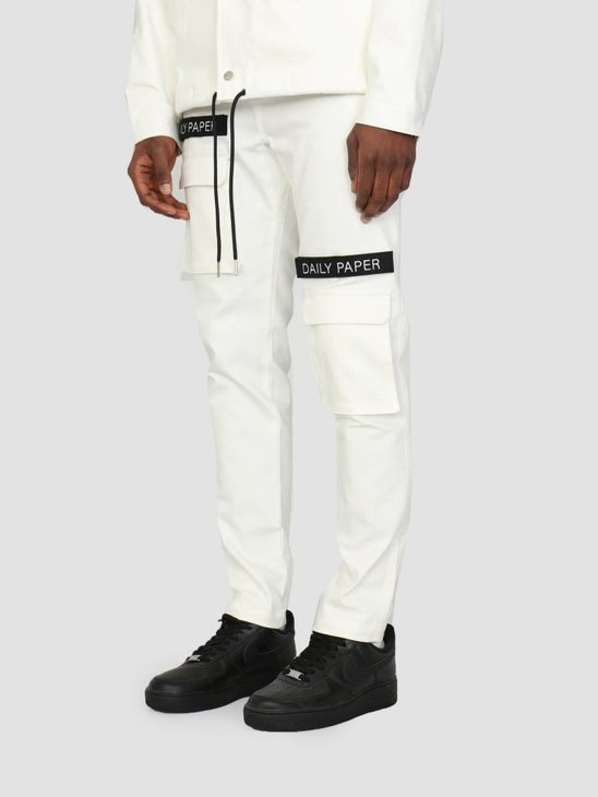 Daily Paper Cargo Pants White 00N1PA03-06