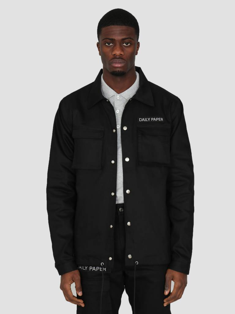 Daily Paper Daily Paper Coach Jacket Black 00N1PA05-01