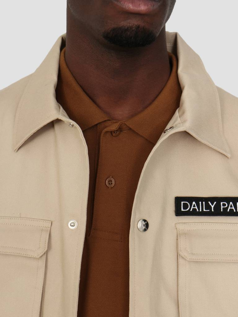 Daily Paper Daily Paper Coach Jacket Beige 00N1PA05-03