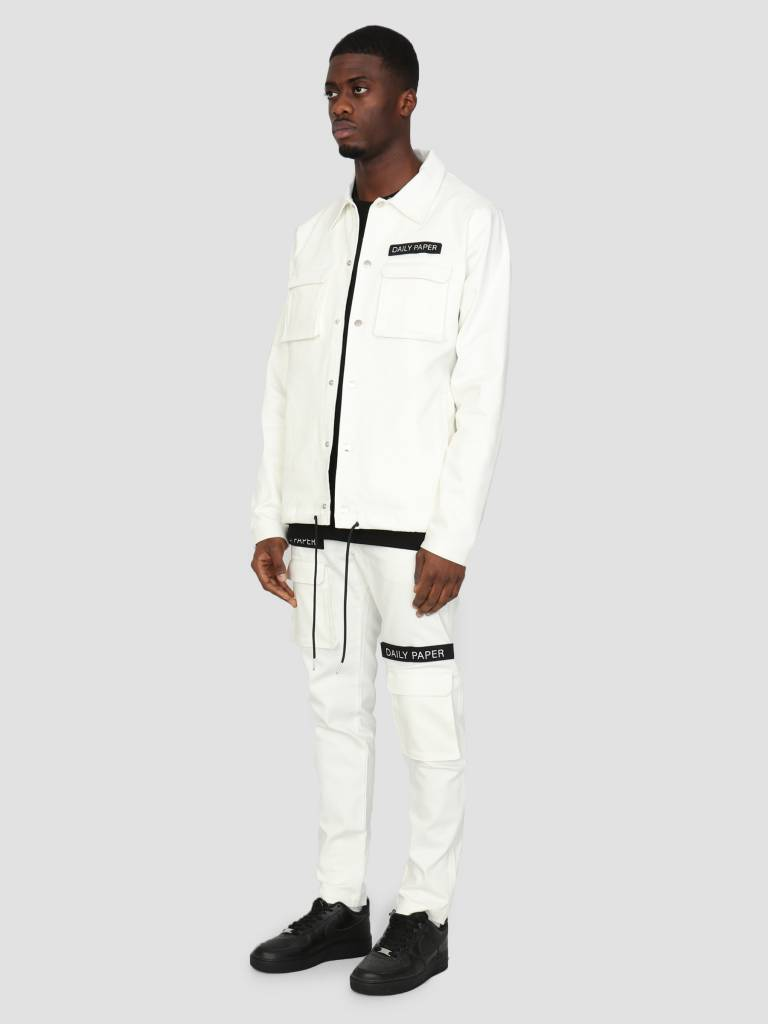 Daily Paper Daily Paper Coach Jacket White 00N1PA05-06