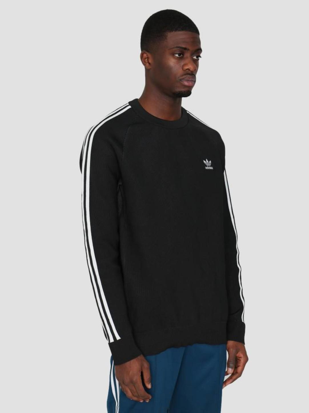 adidas adidas Knit Crew Black DH5754