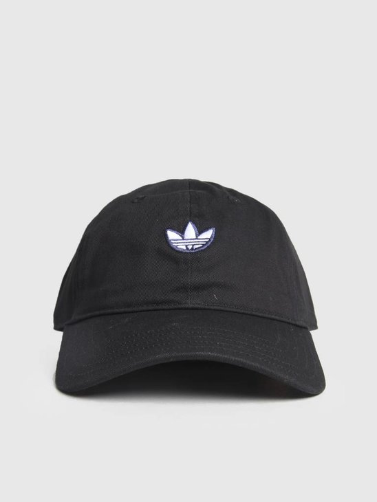 adidas Samstag Dad Cap Black White Goldmt DV1411