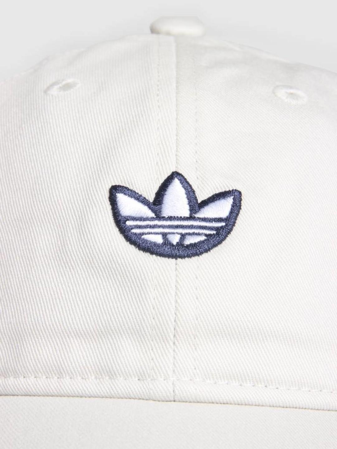 adidas adidas Samstag Dad Cap Rawwht White Goldmt DV1410