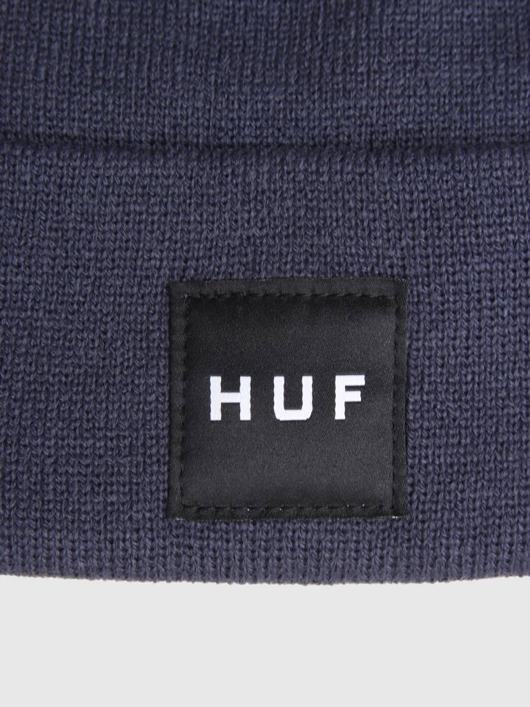 HUF HUF Box Logo Beanie Mood Indigo BN00070