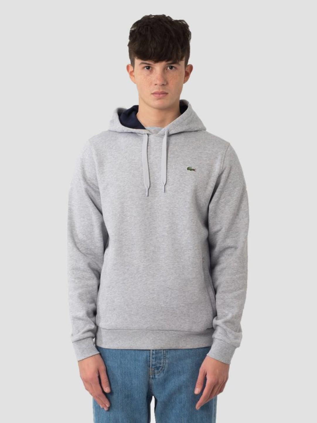 Lacoste Lacoste 1HS1 Sweatshirt 07A Argent Chine Marine Sh2128-83