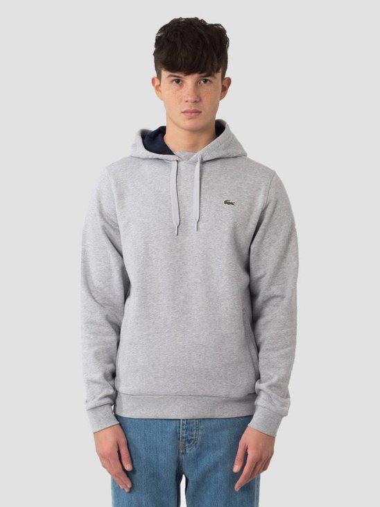 Lacoste 1HS1 Sweatshirt 07A Argent Chine Marine Sh2128-83