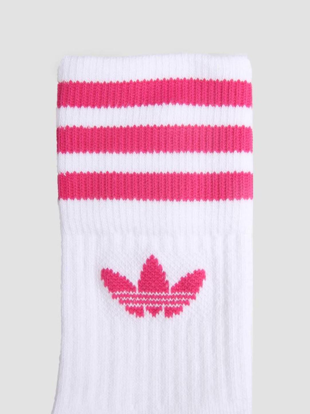 adidas adidas Mid Cut Crew Sock Hite Purglo ED1130